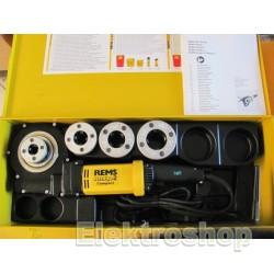 """Rems Amigo 2 compact - Elektrisk gevindskæreklupsæt  1/2 - 1 1/4"""" - 540023"""