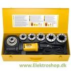 """Rems Amigo 2 compact - Elektrisk gevindskæreklupsæt  1/2 - 2"""" - 540024"""