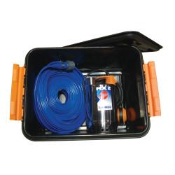 Dykpumpe kælder/ drænpumpe komplet m/slange - Pedrollo RXM-2 SÆT