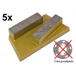Segmentsæt abrasiv til betongulvsliber EBS235 - Eibenstock 160628