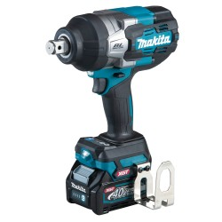 Makita slagnøgle 350nm 40v m. 2x4,0ah batterier TW001GM201