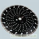 Diamantskive 230mm til beton og granit - Cobra TCB-060230