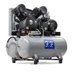 Reno FF industrikompressor Stationær 400V 5,5 hk 710/90+90 IN83090+90-S4
