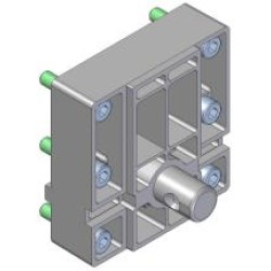 Rapid lås - 6 huller til fastmontering- Cardi 390709