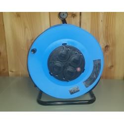 Kabeltromle m/4 udtag, 3G1,5 mm² IP44 - HJR-36D