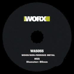 Worx WA5055.3 80mm HSS Circle Blade