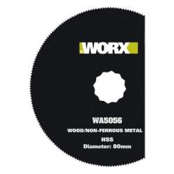 Worx SoniCrafter 3-1/8 HSS Segment savklinge