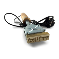 Brændestempel til mærkning af værktøj 200W B40XH35 mm