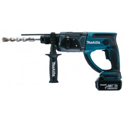 Borehammer SDS-plus m. 2 stk 5,0Ah batterier - Makita DHR202RTJ 18V