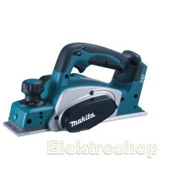 Falshøvl 82MM  akku 18V tool only - Makita DKP180Z