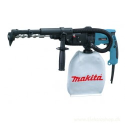 Bore-/mejselhammer SDS-plus med udsugning 780W - Makita HR2432