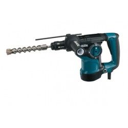 Bore-/mejselhammer SDS-plus m. ekstra borepatron 800W - Makita HR2811FT