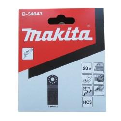 Dyksavklinge AIZ 32 HCS træ 20 stk. - Makita B-34643