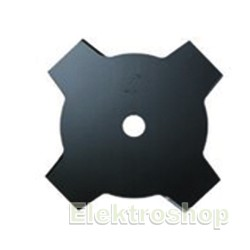 4 tands klinge 230x25,4mm til buskrydder BCM2600 / BCX2500 - Makita 380224180
