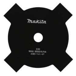 4 tands klinge Ø 230mm til buskrydder EX2650/ BUX361 - Makita B-14118