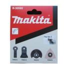 Flisesæt m/4 dele til multicutter - Makita B-30592