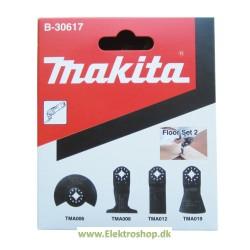 Gulvsæt m/4 dele til multicutter - Makita B-30617
