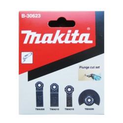 Dyksavsæt m/4 dele til multicutter - Makita B-30623