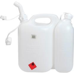 Benzin/olie kombi dunk med 2 rum - Makita 949000036