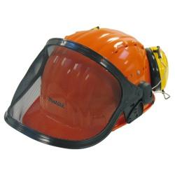 Beskyttelseshjelm med visir og høreværn - Makita 988.000.609