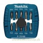 Bitsæt 10 dele - Makita P-70166