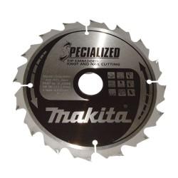 Rundsavsklinge 165x20mm 24 tænder - Makita B-33093