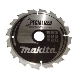 Makita rundsavklinge 165x20mm 24 tænder B-33093
