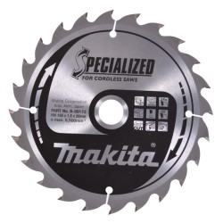 Rundsavsklinge 165x20mm  56/48 tænder sæt m. 2 stk - Makita B-49301
