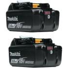 Batteri BL1830B 18V 3,0Ah LI-ION 2 stk - Makita 197606-4