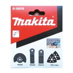 Tømrersæt m/5 dele til multicutter - Makita B-30639