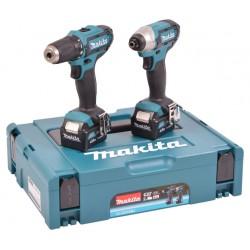 Slagskruetrækker + Bore-/skruemaskine - Makita CLX201SMJ