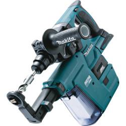 Bore-/mejselhammer SDS-plus m. udsugning akku 18V tool only - Makita DHR243ZJV