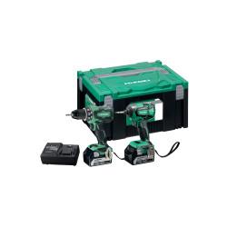 Hikokiværktøjssæt 2X5,0AH DS18DBSL+WH  KC18DBSL 68000603