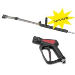 Pistol + dobbelt lanse og lavtryksdyse - Reno 163023R+251211