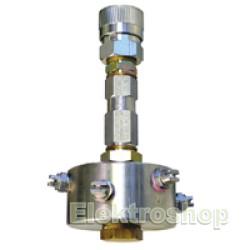 """Støvbindingshoved Magnetventil 3/8"""" inkl. Spole 220 V. 200 Bar 250501"""