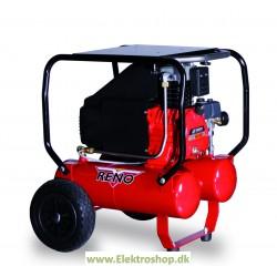 Kompressor enfaset byggeplads 2,5 hk 320/24 - Reno HN32024-m1