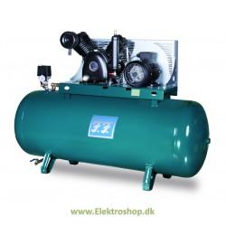 Industrikompressor stationær Passat 7,5 hk 720/500 - Reno IN720500-S6