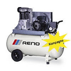 Kompressor trefaset mobil 3,0 hk 400/90 - Reno PC40090