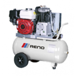 Benzin kompressor mobil 4,8 hk 550/50 m. manuel start - Reno PC55050-C3