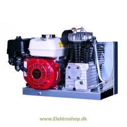 Benzin kompressor stationær 4,8 hk 550/32 m/el-start - Reno PC55032-B8
