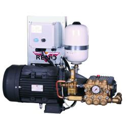 Højtryksrenseranlæg stationær 150 bar  St.150/41 - Reno SE15041